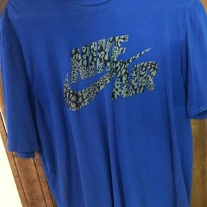 Large Blue Nike T Shirt